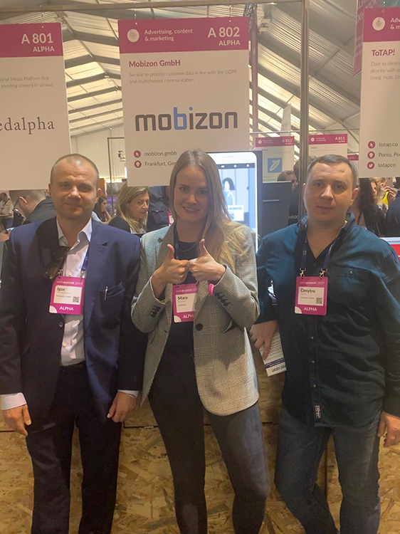 Команда Mobizon на Web Summit
