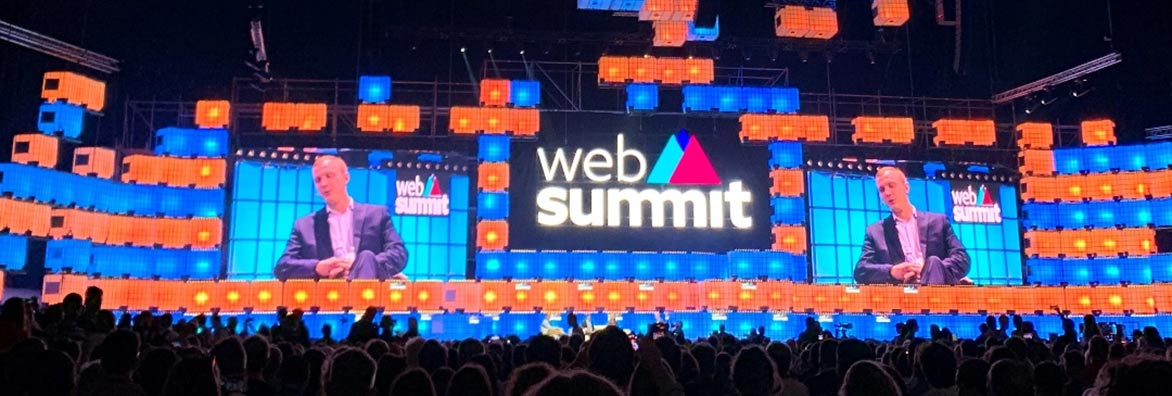 WebSummit2019 - Главная сцена